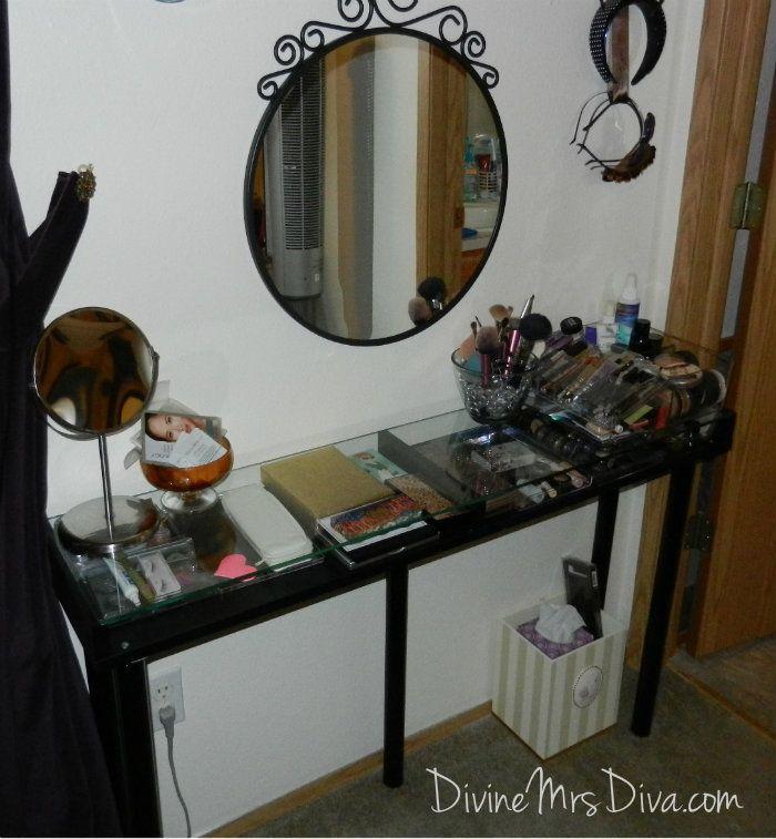100 best images about diy vanity on pinterest vanity area diy makeup vanity and diy makeup. Black Bedroom Furniture Sets. Home Design Ideas