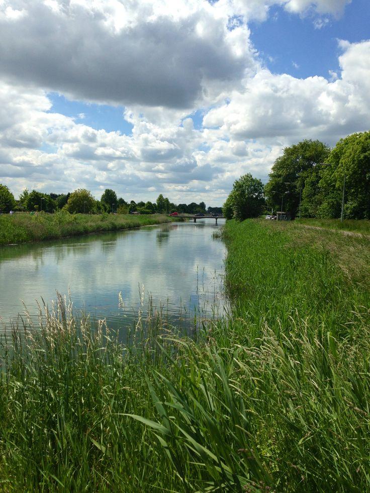 Indunatiekanaal Tiel Gelderland
