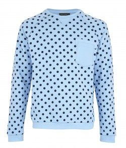dotted long sleeve