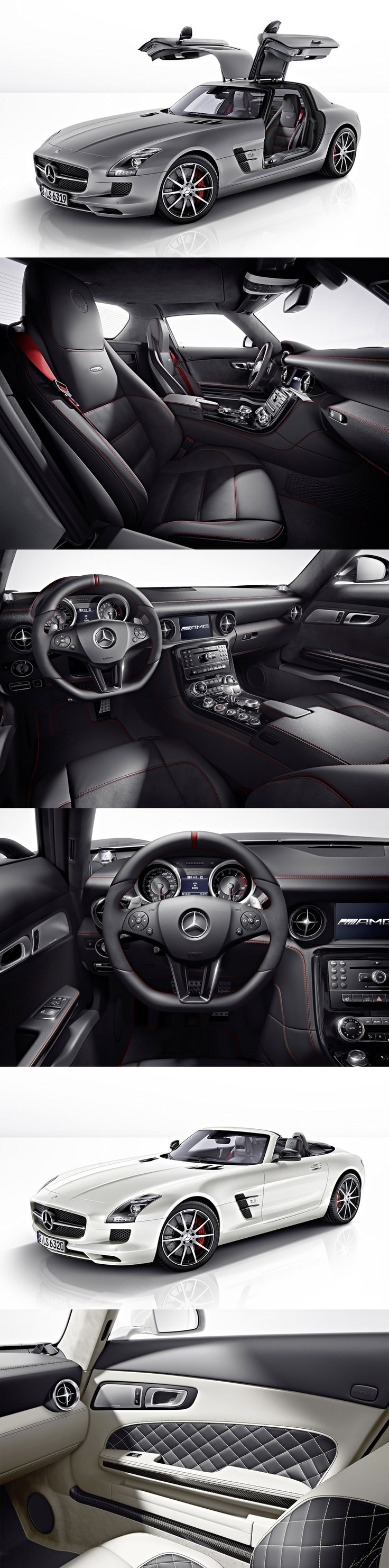 New 2013 Mercedes Benz SLS AMG GT sports added horsepower and performance