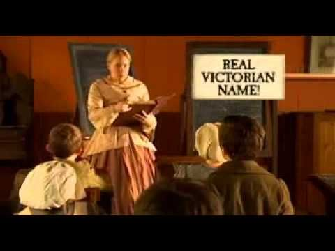 Horrible Histories - Victorian Names.