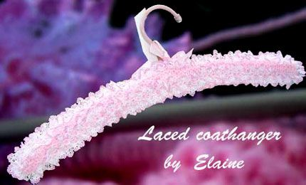 'Laced Coathangerpage' of Knit & Chat Stocksbridge