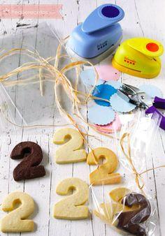 Recetas de galletas de cumpleaños , Cuando hay un cumpleaños en la clase, mis hijos llegan a casa con un cono de chucherías, regalo del cumpleañero, se comen algunas y otras las dejan...