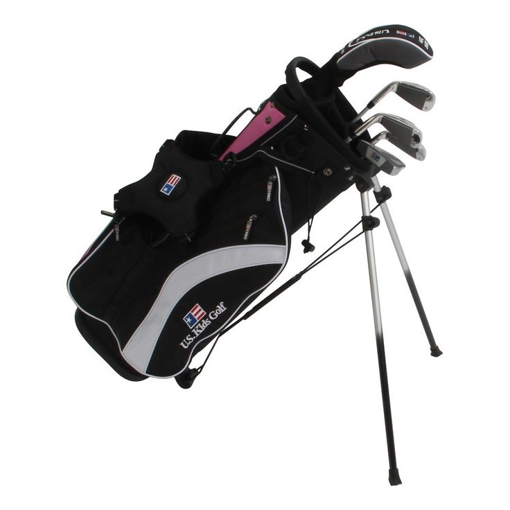 US Kids Golf Ultralight UL51 5-Club Set with Bag - PINK - Golf Clubs - Puetz Golf