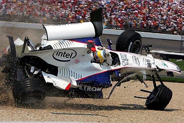 formula 1 recent crash