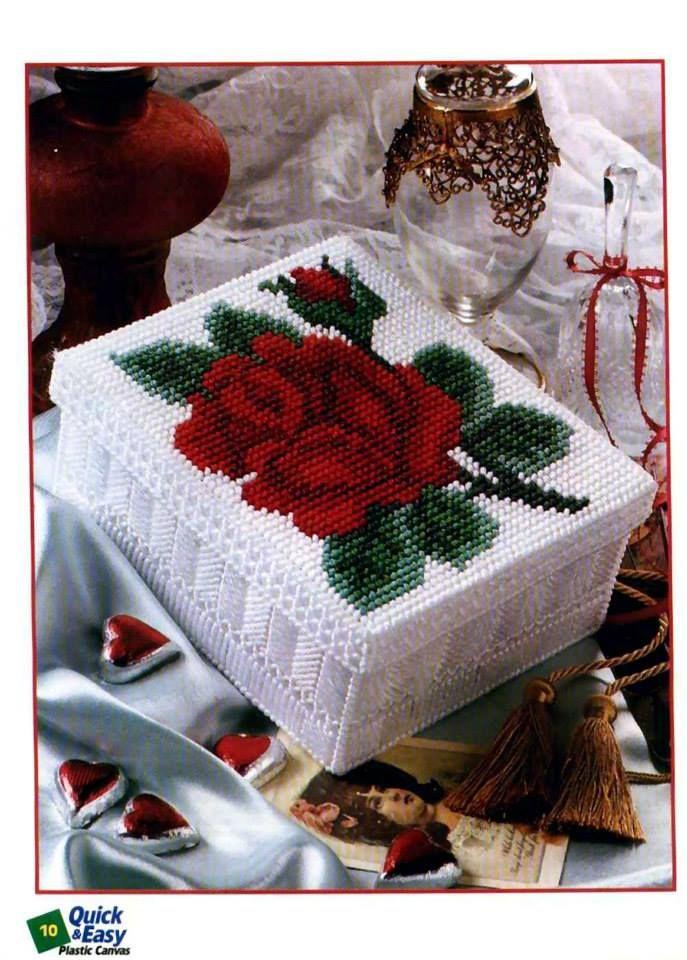 ROMANTIC ROSE BOX by KATHLEEN HURLEY 1/3