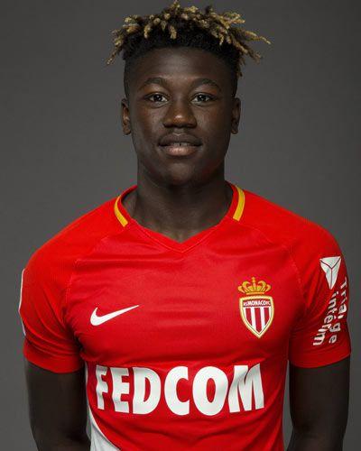 Maillot Domicile AS Monaco Kévin N'DORAM