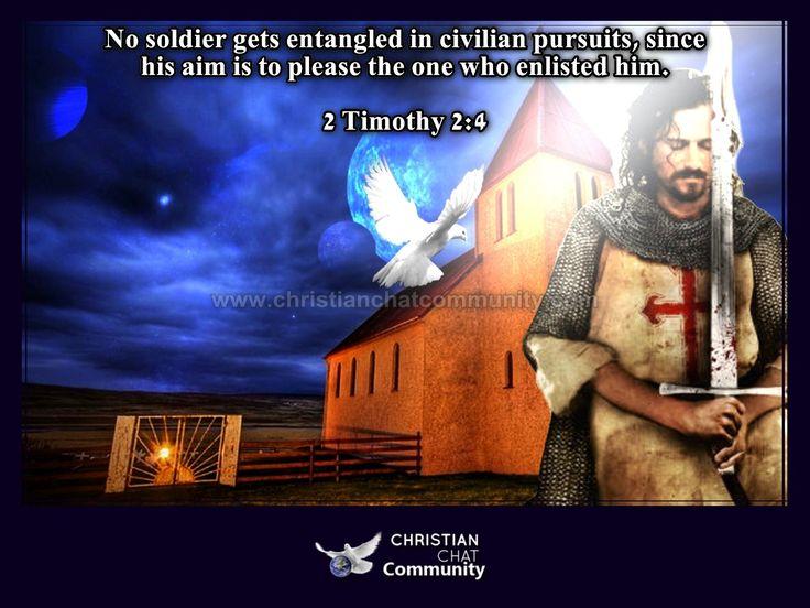 2 Timothy 2:4 - Christian Chat Community