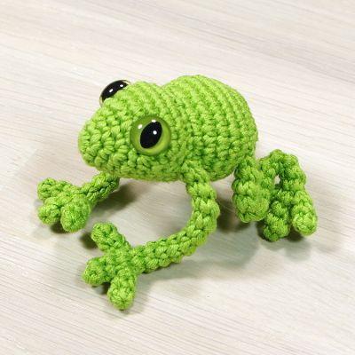 free crochet frog pattern                                                       …