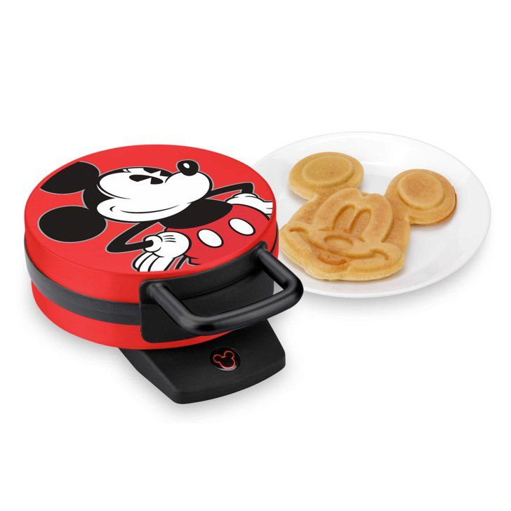 Pin for Later: 35 Gifts For the Disney-Loving Moms and Dads in Your Life Mickey Mouse Waffle Maker Help your mom friend take family breakfast to the Disney level with this Mickey Mouse waffle maker ($30).