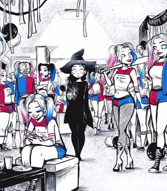 What's the hype about Harley Quinn anyway? Literally all the girls were her for Halloween