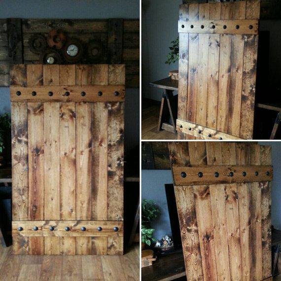 Rustic Barn Door Shutter  Extra Large Shutter Slider by WoodenNail