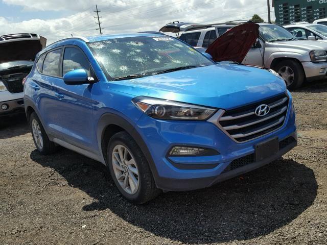 Salvage 2017 Hyundai Tucson Limited Hyundai Tucson Salvage Car Detailing