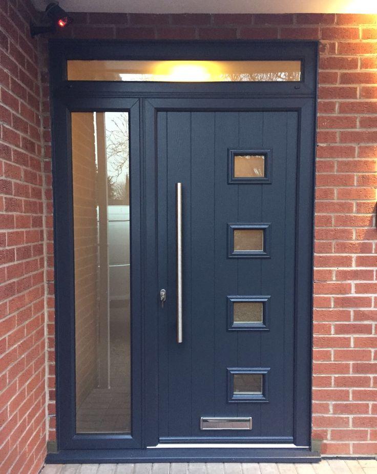 Endurance Doors - Nab - Anthracite Grey & 121 best Front doors images on Pinterest | Front doors Entrance ... pezcame.com