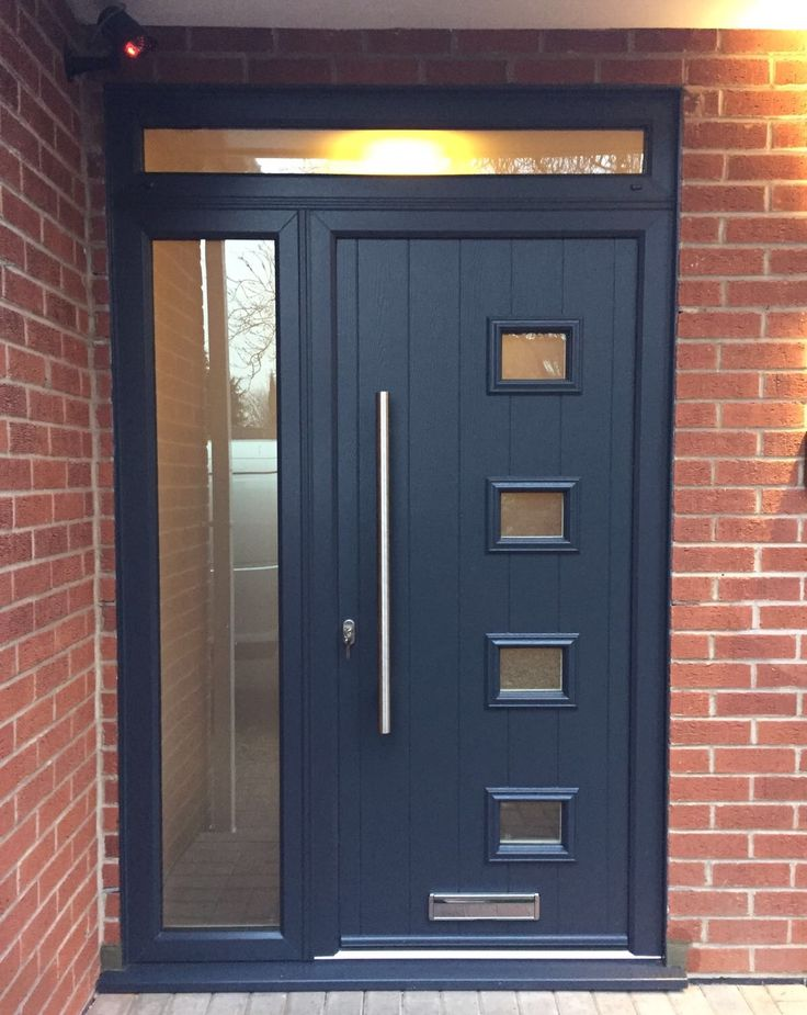 Endurance Doors Nab Anthracite Grey Front Doors
