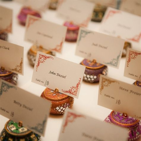 Indian Style Escort Cards                                                                                                                                                     More