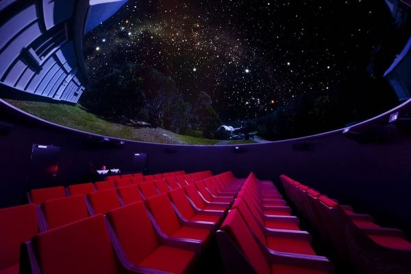 Stargaze and take a virtual journey through space with their multimedia exhibition and a state-of-the-art digital film in the Pelorus Trust Planetarium at Carter Observatory. (Photo courtesy of Carter Observatory)
