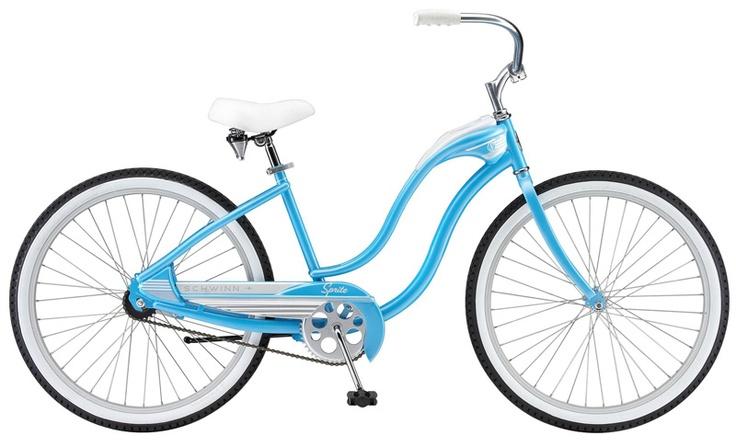 женский велосипед круизер Schwinn Sprite (2010)