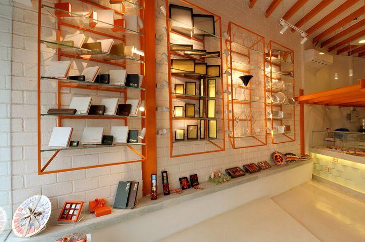 Bruijn chocolate store by Kaleido architecture, Mumbai store design                                                  youtube downloader