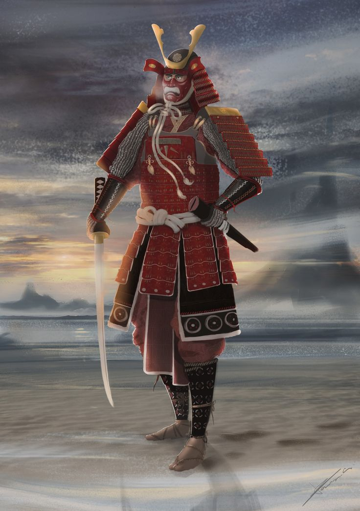 ArtStation - Sunset Samurai, Tomasz Baraniecki