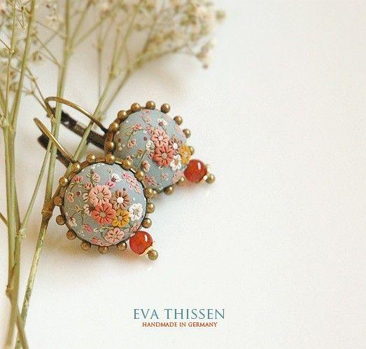 VINTAGE BLUE handmade earrings от EvaThissen на Etsy