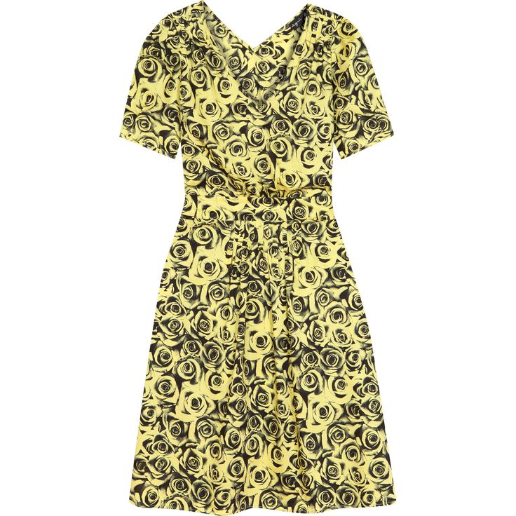 robe ysalis jaune / dress ysalis yellow / collection femme été 16 / women's summer 16 collection #agnesb #womenswear