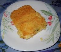 Tortino di patate con zucchine e gorgonzola