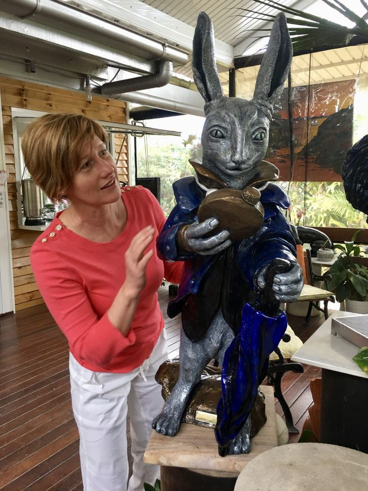 This is one of the amazing sculptures that will be on display at the annual Exhibition on the 4/11/2017 from 2-4pm. FREE entry and all welcome. Refreshment will be served as as well as entertainment. Ph for more info 0403 128 380 A one of a kind Stoneware Clay Sculpture by Jeanette Conn was last modified: October 19th, 2017 byContinue Reading