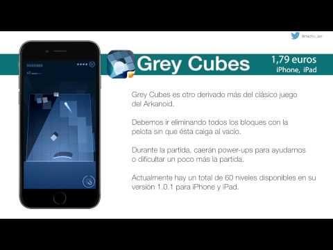 Grey Cubes, el clásico juego del Arkanoid con aires renovados - http://www.actualidadiphone.com/2014/11/23/grey-cubes-el-clasico-juego-del-arkanoid-con-aires-renovados/