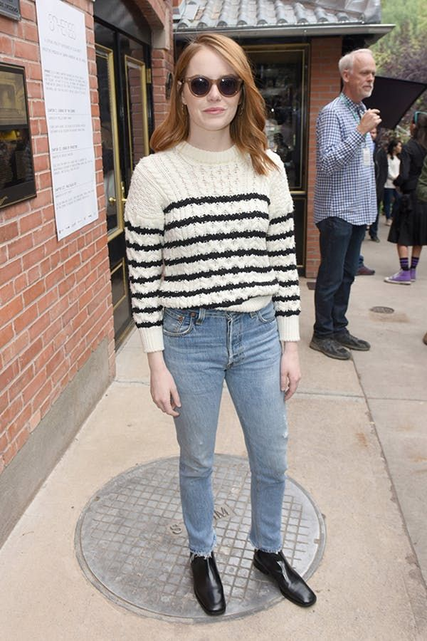 7c21a308eaf 4 Emma Stone Outfits That Are So Easy to Copy  purewow  fashion   outfitideas  style  celebritystyle  outfits  celebrityfashion  emmastone   emmastonestyle ...