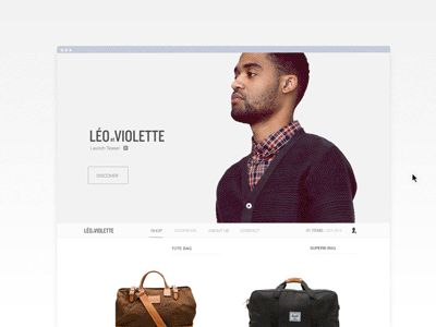 webshop. product preview