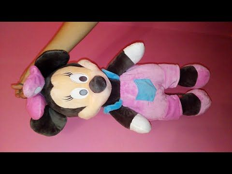 MINNIE MOUSE GUARDAPIJAMAS-JUGUETES MANOLIDADES لعبة jouet toy おもちゃ игрушка - YouTube