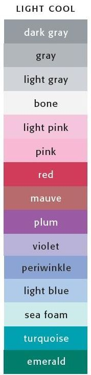 Colors for Soft Summer complexion