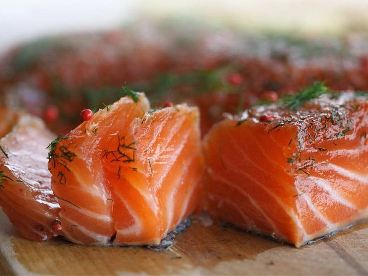 Saumon gravlax au Thermomix