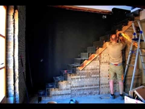 Escalera de cartón