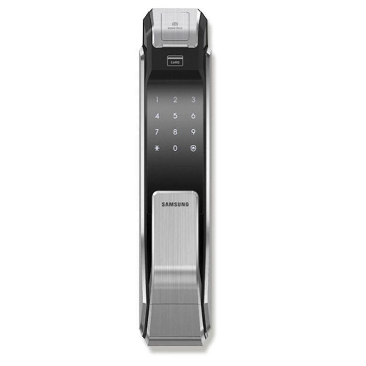 Fechadura Digital Biométrica Inteligente Push / Pull SHS-P718 Samsung -Casa e Segurança - Fechadura Digital - Walmart.com