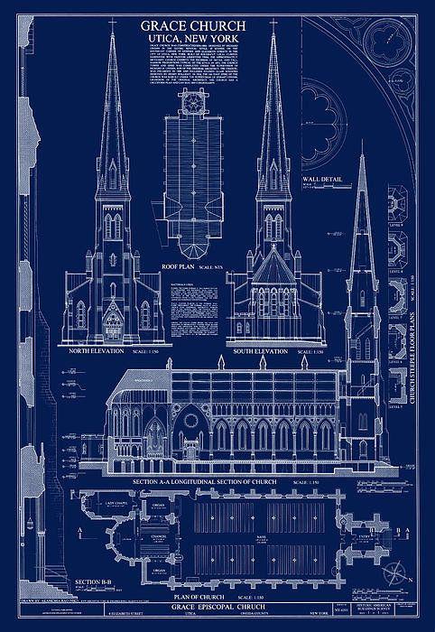 17 best images about blueprints on pinterest for Architecture blueprint