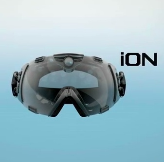 iON - HMD goggle for skiers