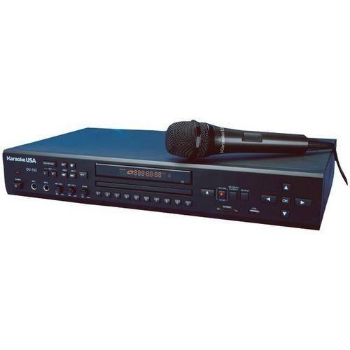 Karaoke USA(TM) DV102 DVD/CD+G/MP3+G Karaoke Player R810-JSKDV102