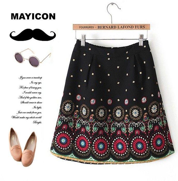 [$12.89]Fashion Korean cute flowers thick skirts BD-C1259