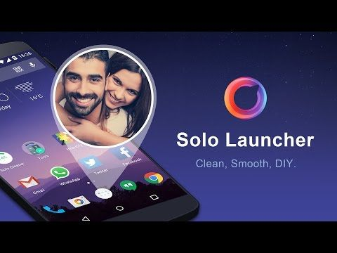 Solo Launcher-Clean,Smooth,DIY – Android апликације на Google Play-у