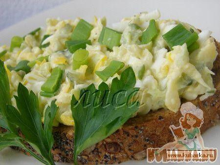 Рецепт: Бутерброды с кабачками