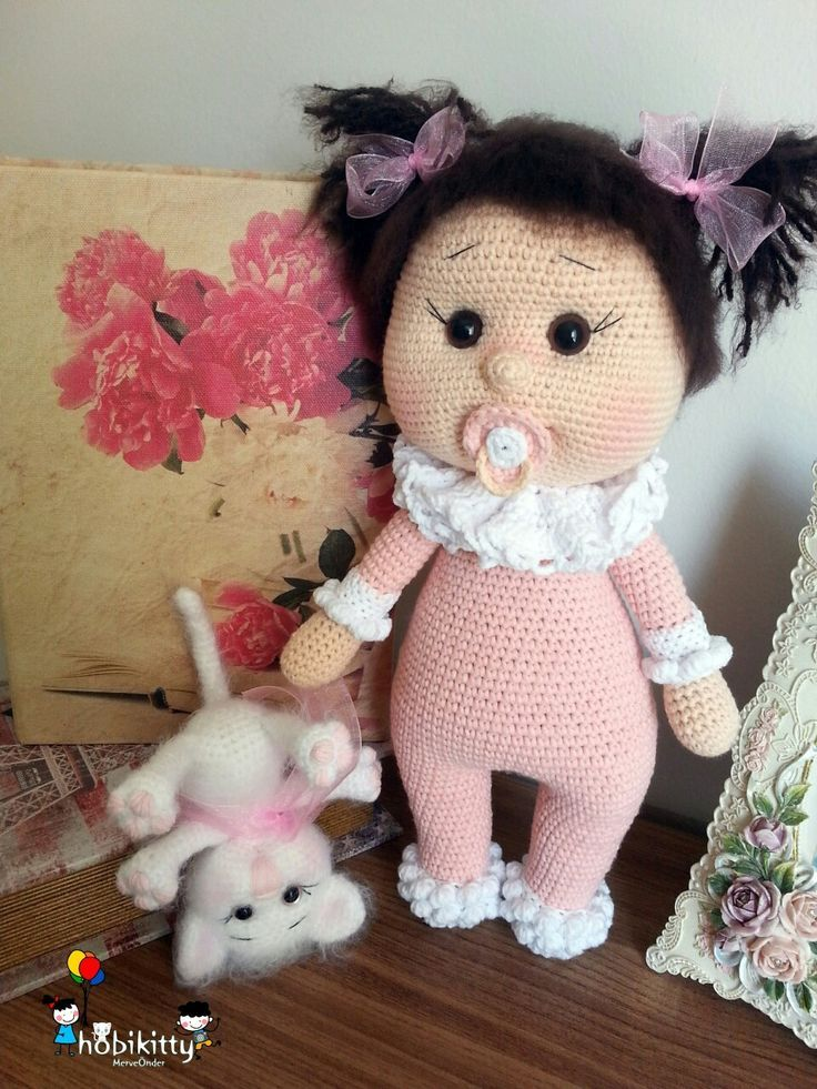 Amigurumi Baby Stricken Baby Hobikitty Crochet Dolls Crochet Teddy Bear Crochet Teddy Bear Pattern