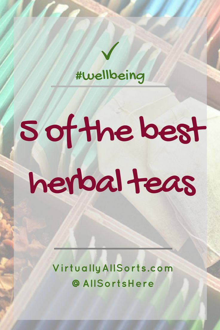 There's nothing quite like a hot, comforting drink is there?  Particularly in the colder months.  Some people reach for a steaming cup of coffee.  Me?  I reach for a soothing or reviving cup of herbal tea and here I give you 5 of the best...