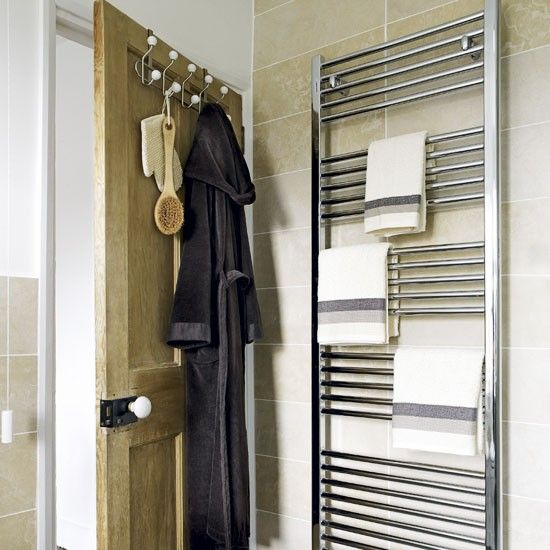 Best Bathroom Towel Rails Ideas On Pinterest Towel Rail - Large towel storage for small bathroom ideas