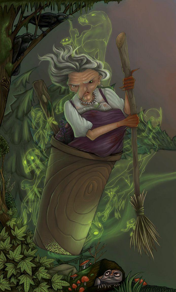 Картинка бабы яги прикольная из мультфильма