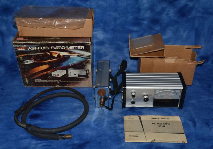 Sears Penske Air Fuel Ratio Meter Exhaust Gas Analyzer W/ Box and Instructions #Sears