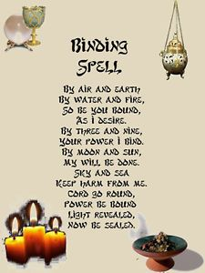 Wiccan Book of Shadows Pages | Details about Binding Spell Wicca Book of Shadows Parchment paper with ...