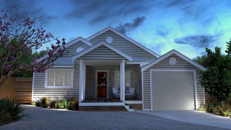 Sandlewood House Mod - 3 bedroom coastal cottage design