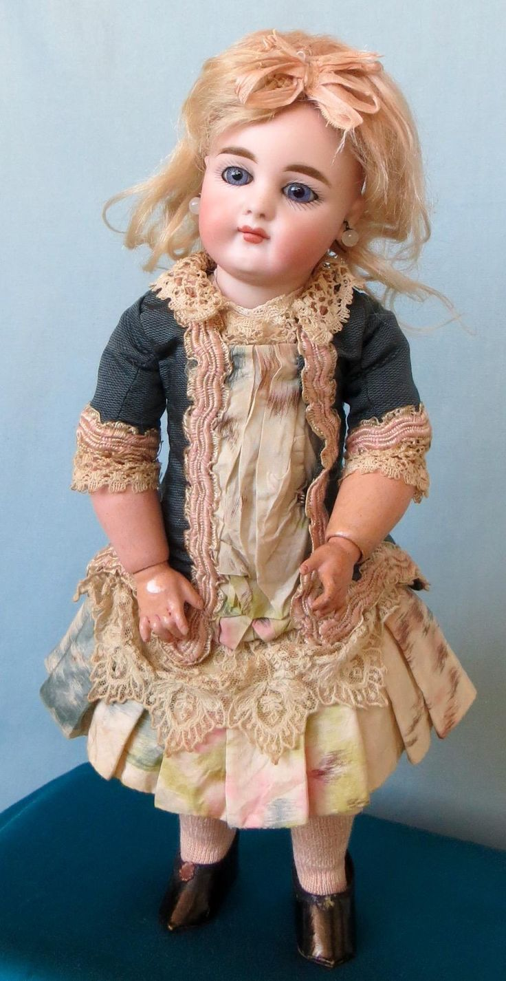 Antique Simon and Halbig 949 Doll with Adorable Face from abigailsattic on Ruby Lane